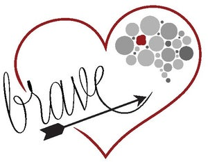 Image of Brave Temporary Tattoos - 5 pack
