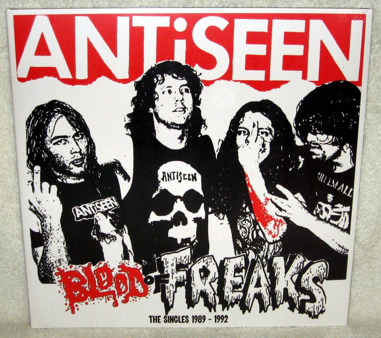 "Image of ANTiSEEN - ""Blood Of Freaks: The Singles 1989-1992"" LP"
