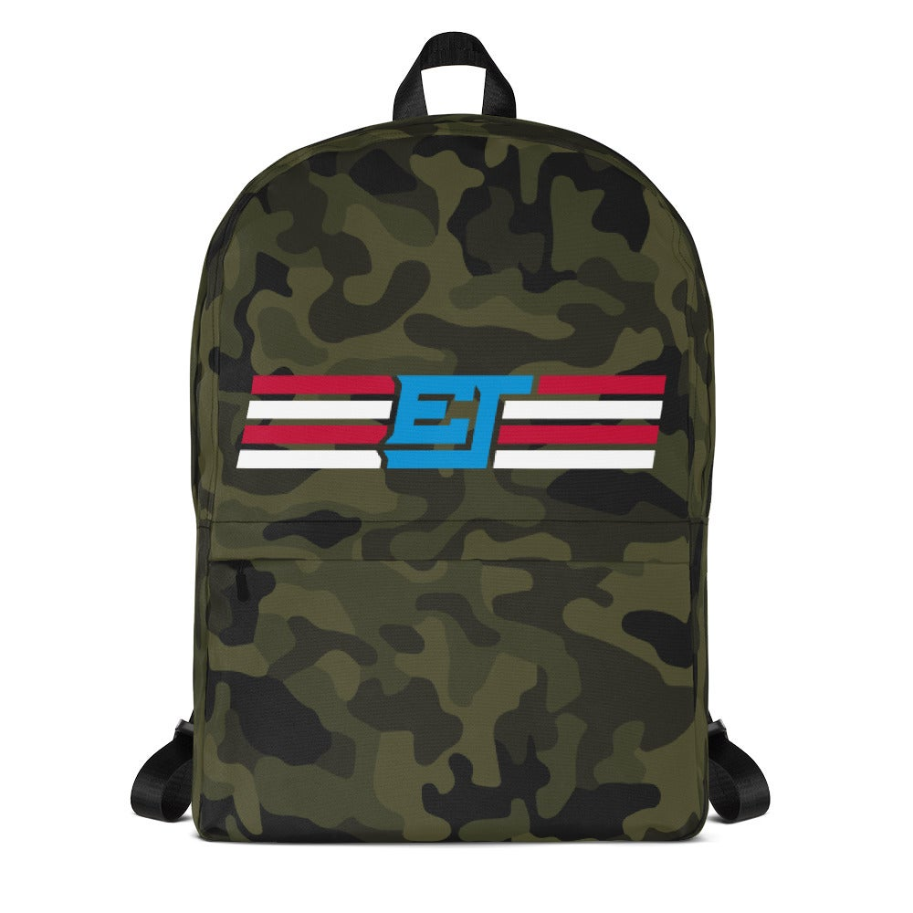 Image of Erik Jones Camo Backpack