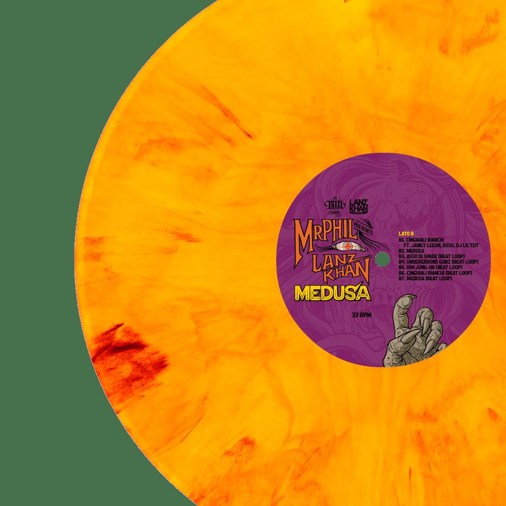 Image of VINILE // MR.PHIL & LANZ KHAN - MEDUSA EP