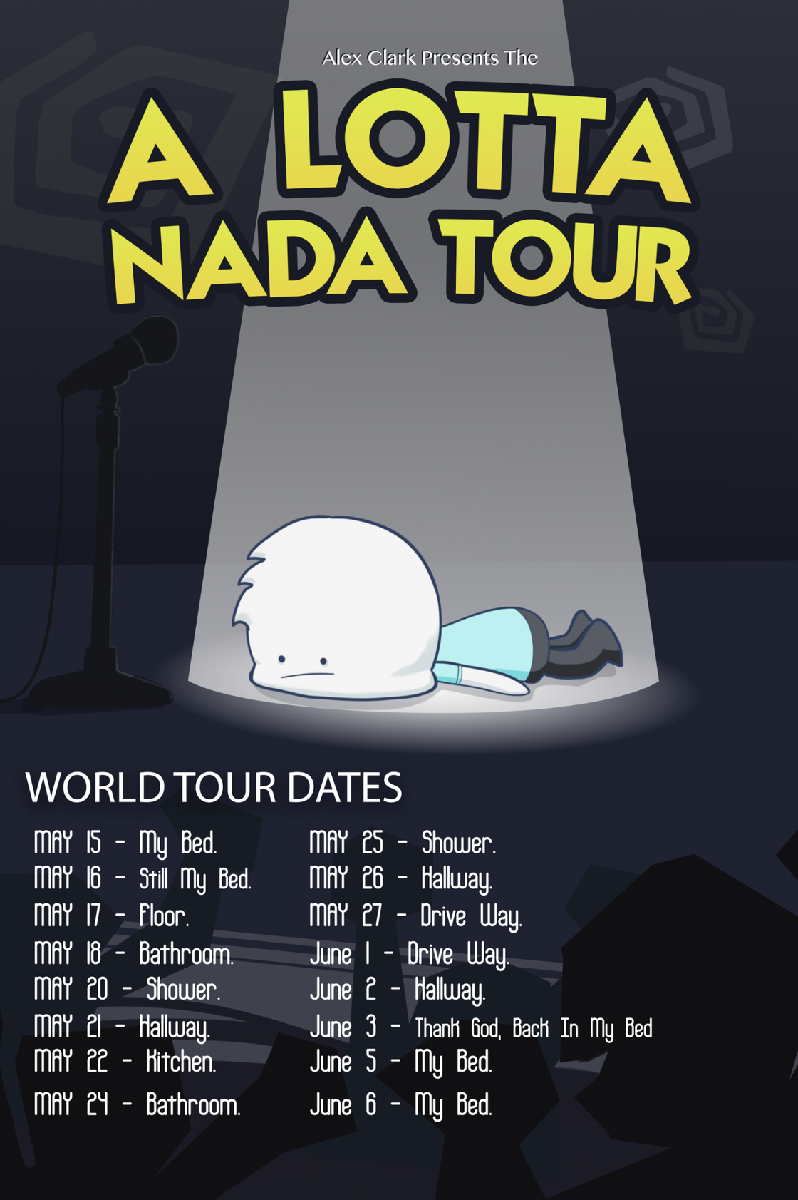 Image of A lotta Nada Poster + Song download