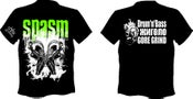 Image of SPASM Drum'n'Buss T-SHIRT's OUT NOW !!!
