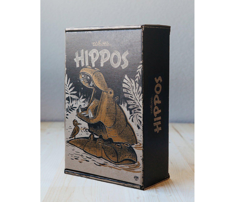Image of WHITTLE HIPPOS SET