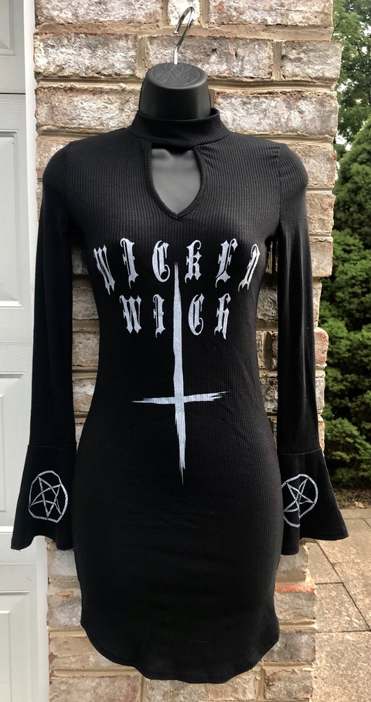 Image of Wicked Witch - Choker Neck Dress