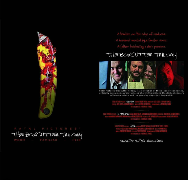Image of The Box Cutter Trilogy (DVD)