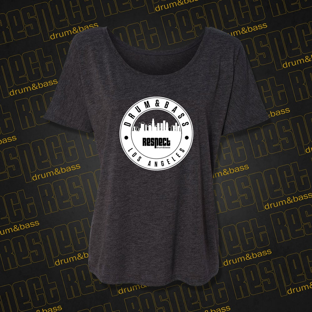 Image of *Limited Edition* Women's Slouchy RESPECT City Tee