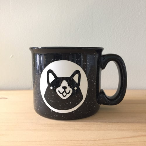 Image of corgi camp mug