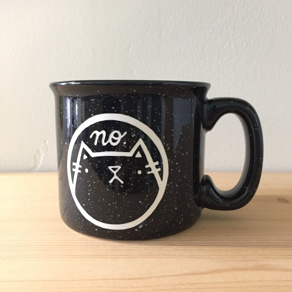 Image of NO cat camp mug
