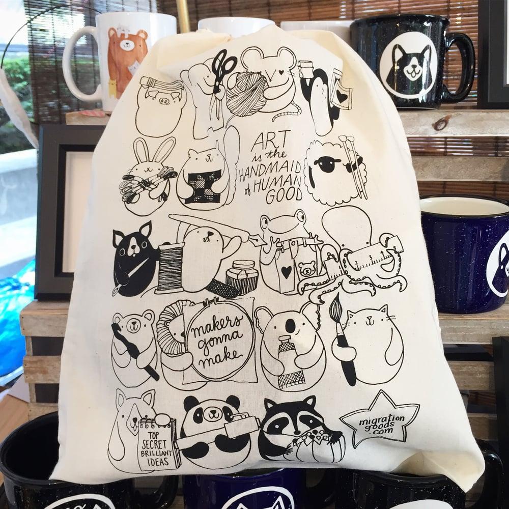 Image of maker friends project bag