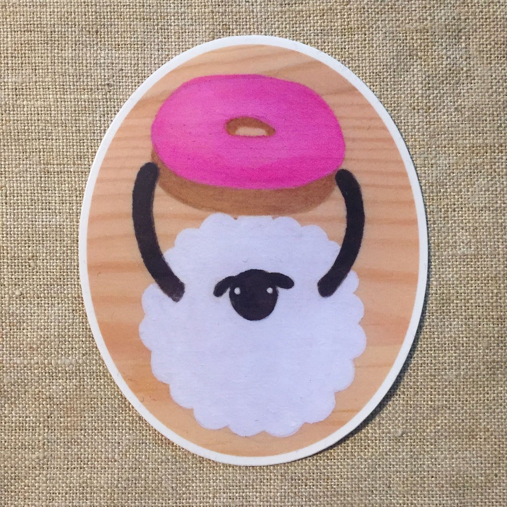 Image of say anything sheep sticker