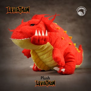 Image of Leviathan: Limited Edition Leviathan plush!