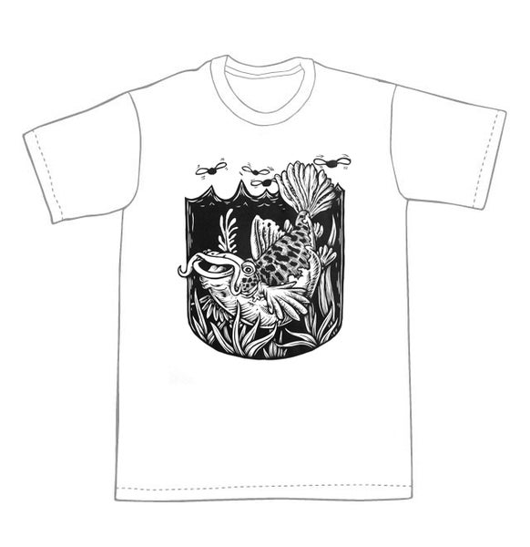 Image of Catfish T-shirt **FREE SHIPPING**