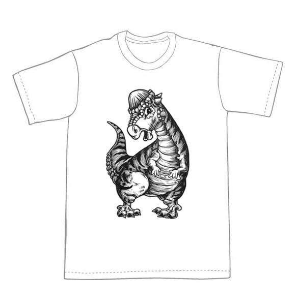 Image of Pachycephalosaurus Dino  T-shirt **FREE SHIPPING**