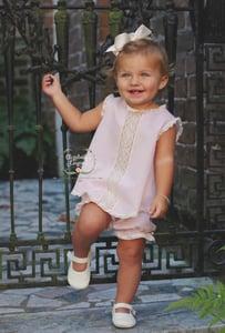 Image of Lyla Heirloom Dress & Bloomer Set
