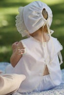 Image 3 of The Lyla Heirloom Bonnet
