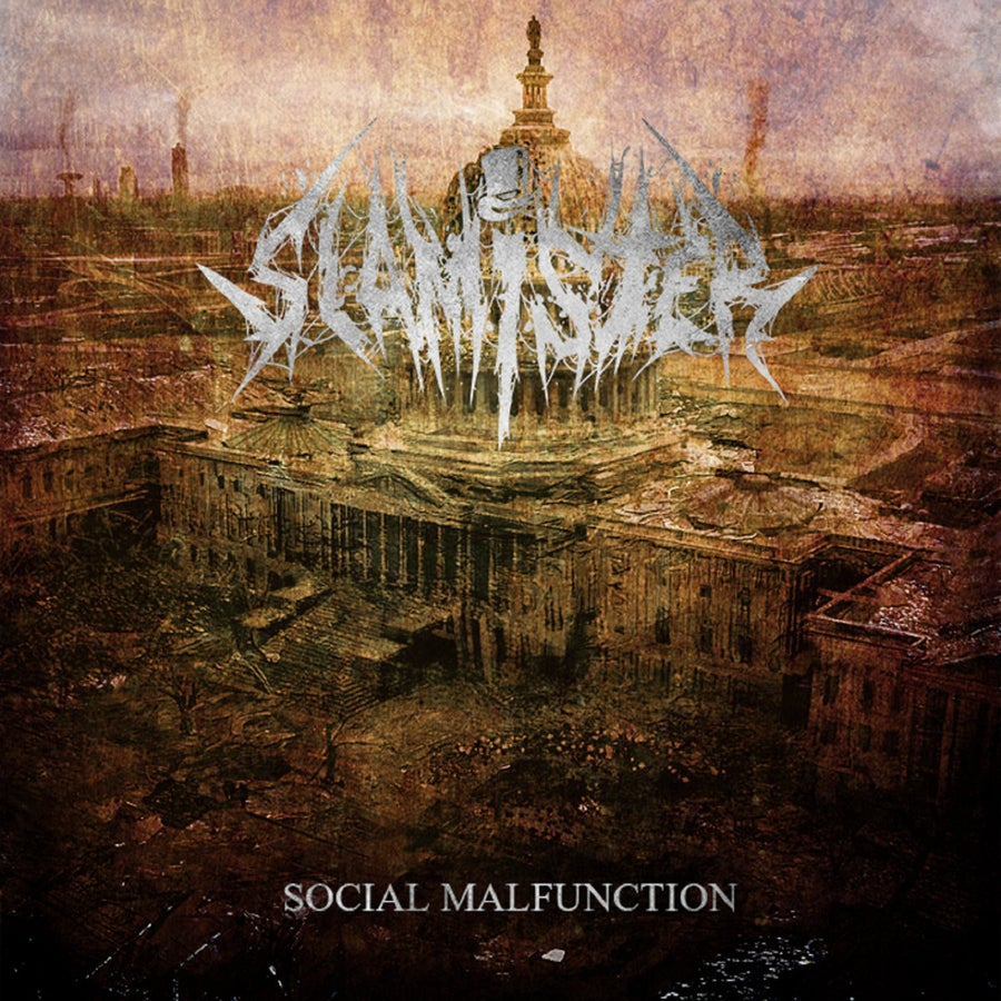 Image of Slamister - Social Malfunction CD