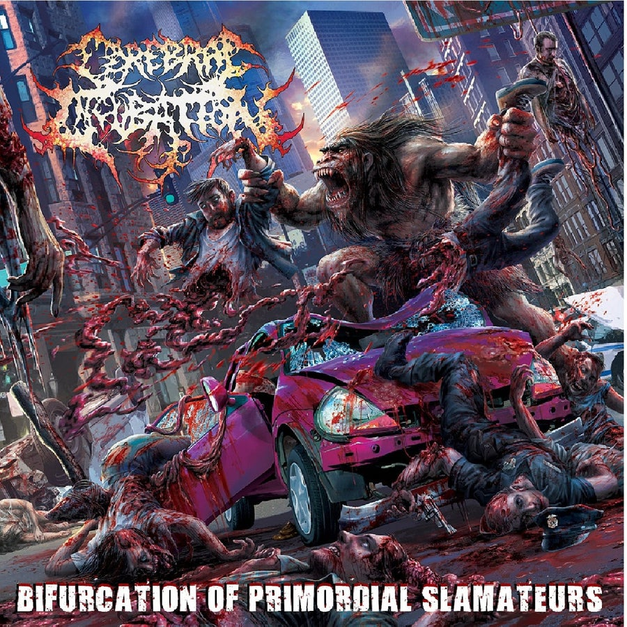 Image of Cerebral Incubation - Bifurcation Of Primordial Slamateurs CD