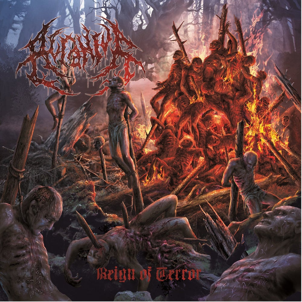 Image of Acranius - Reign Of Terror CD Digipack