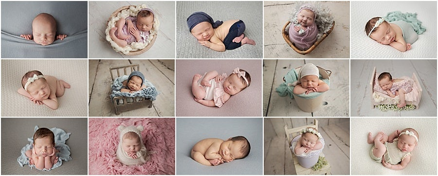 Image of Newborn posing workshop with New Beginnings Photography