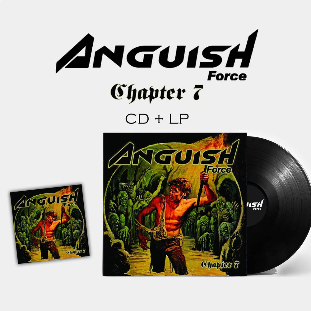 "Image of ANGUISH FORCE ""Chapter 7"" CD + LP (PRE-ORDER)"