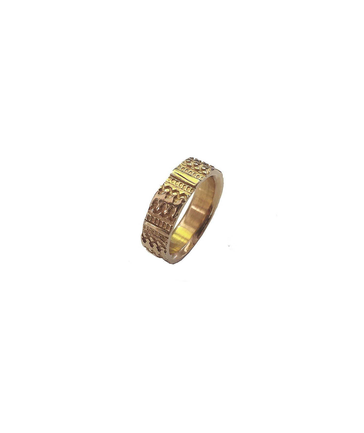 Image of Gandharva Imprint, SLIM-yellow gold