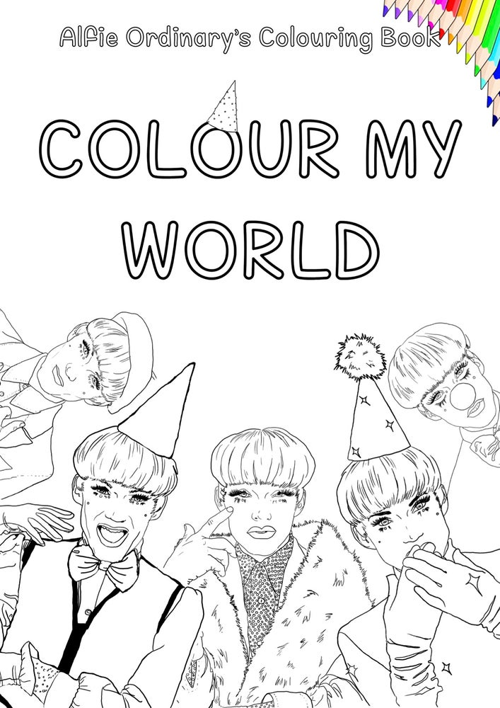 Image of Alfie Ordinary's Colouring Book