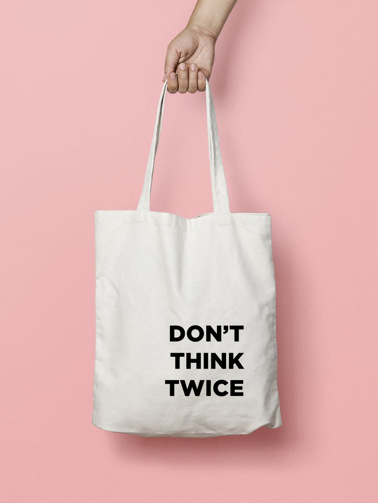 Image of IRONIC SENTENCES tote bags