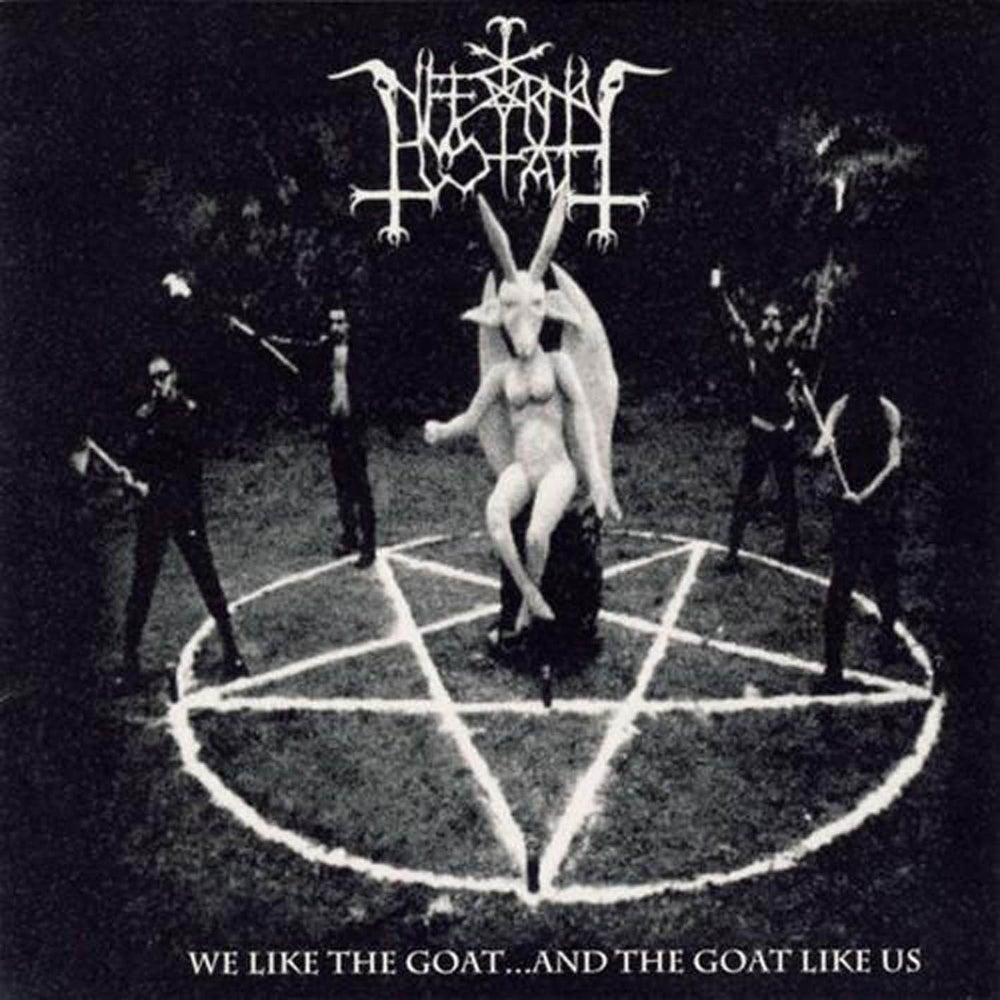 """Image of INFERNAL GOAT """"We Like the Goat... and the Goat Like Us"""" CD"""