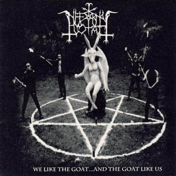 "Image of INFERNAL GOAT ""We Like the Goat... and the Goat Like Us"" CD"
