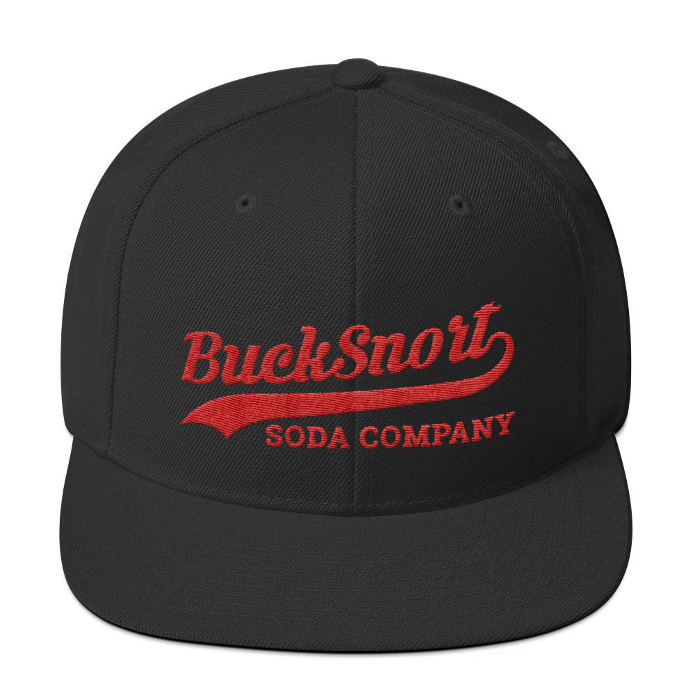 Image of BuckSnort Baseball Snapback Hat