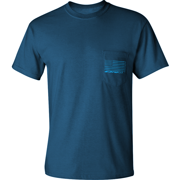 Image of US-747 Gaff Pocket Tee (slate)