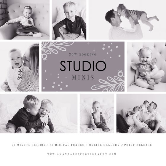Image of Studio Mini Session - Sept 23