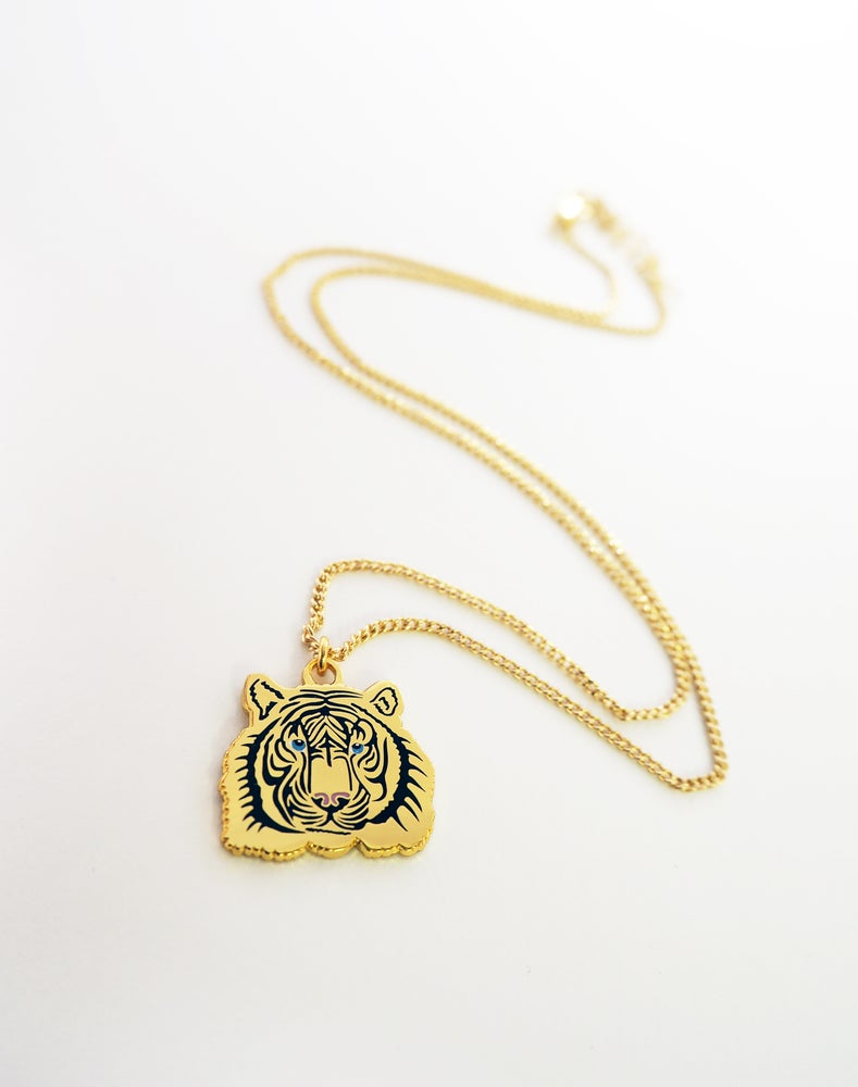 Image of Tiny Tiger Necklace