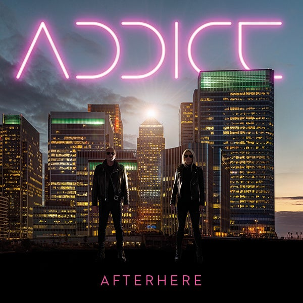 Image of Addict. CD Album