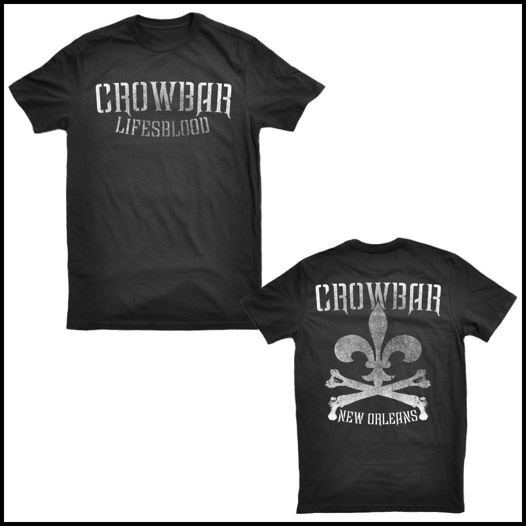 Image of Crowbar Lifesblood - Black T - shirt