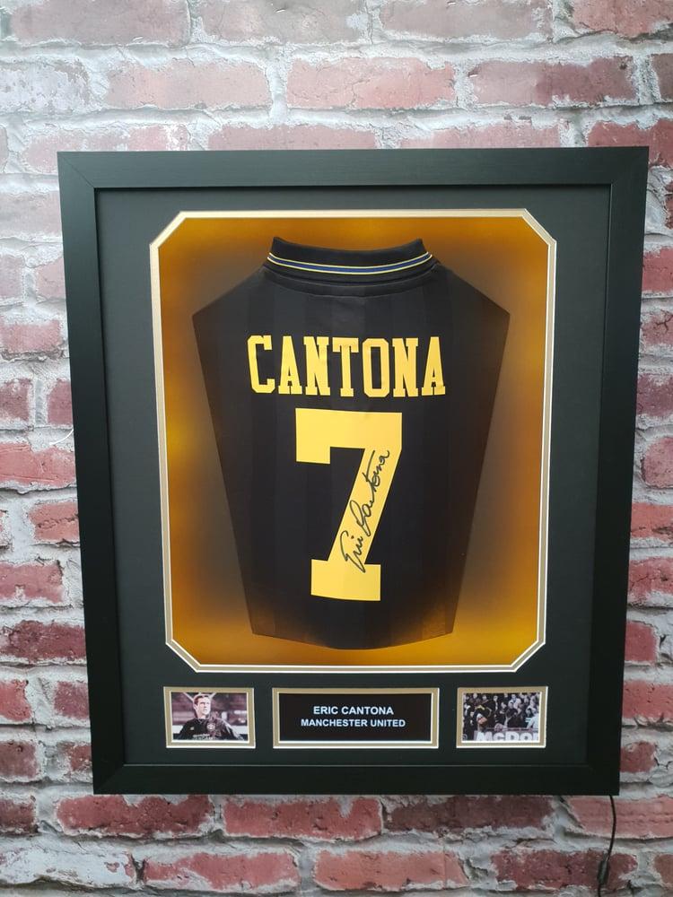 Image of Eric Cantona - Signed Shirt