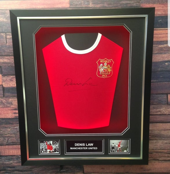 Image of Signed Denis Law shirt