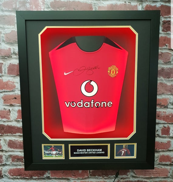 Image of David Beckham Signed Shirt