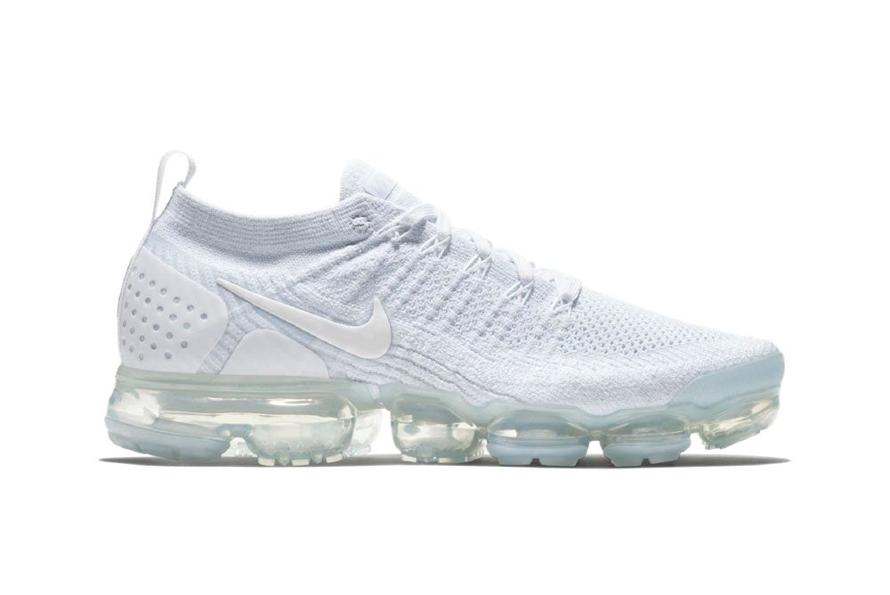 Image of Air VaporMax Flyknit 2  White Pure Platinum 942842-100