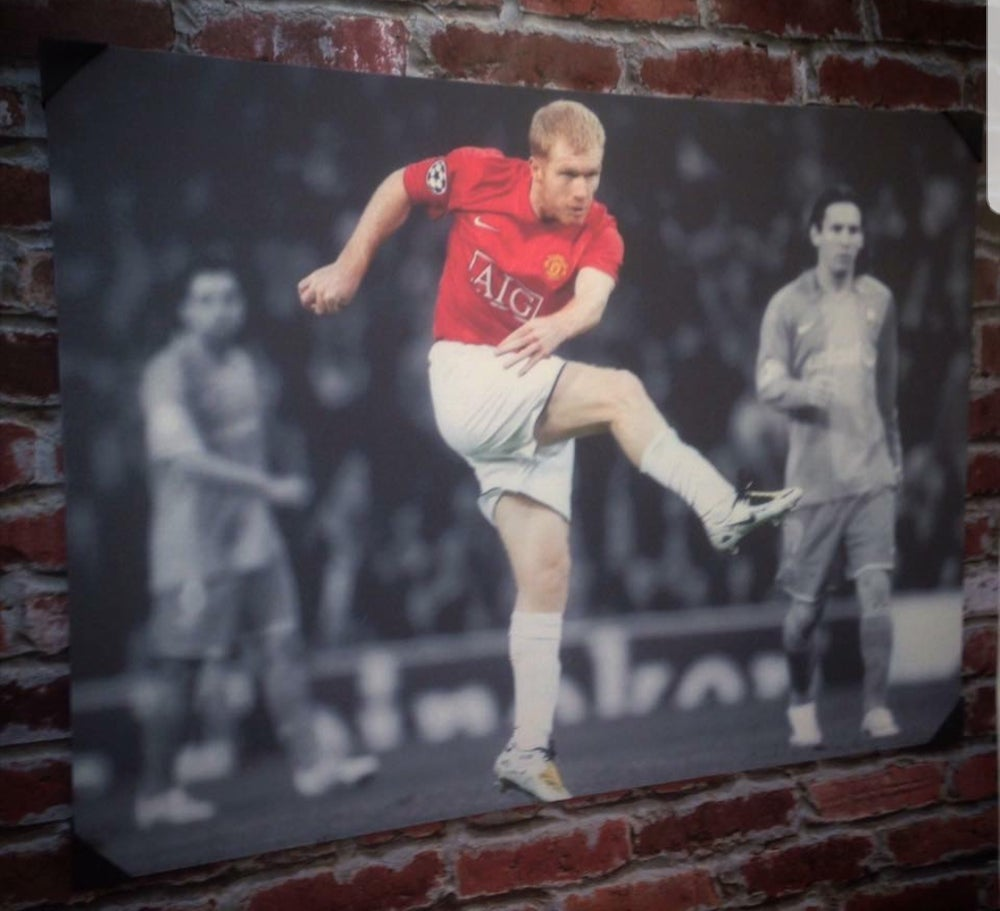 Image of Paul Scholes Goal Vs. Barcelona