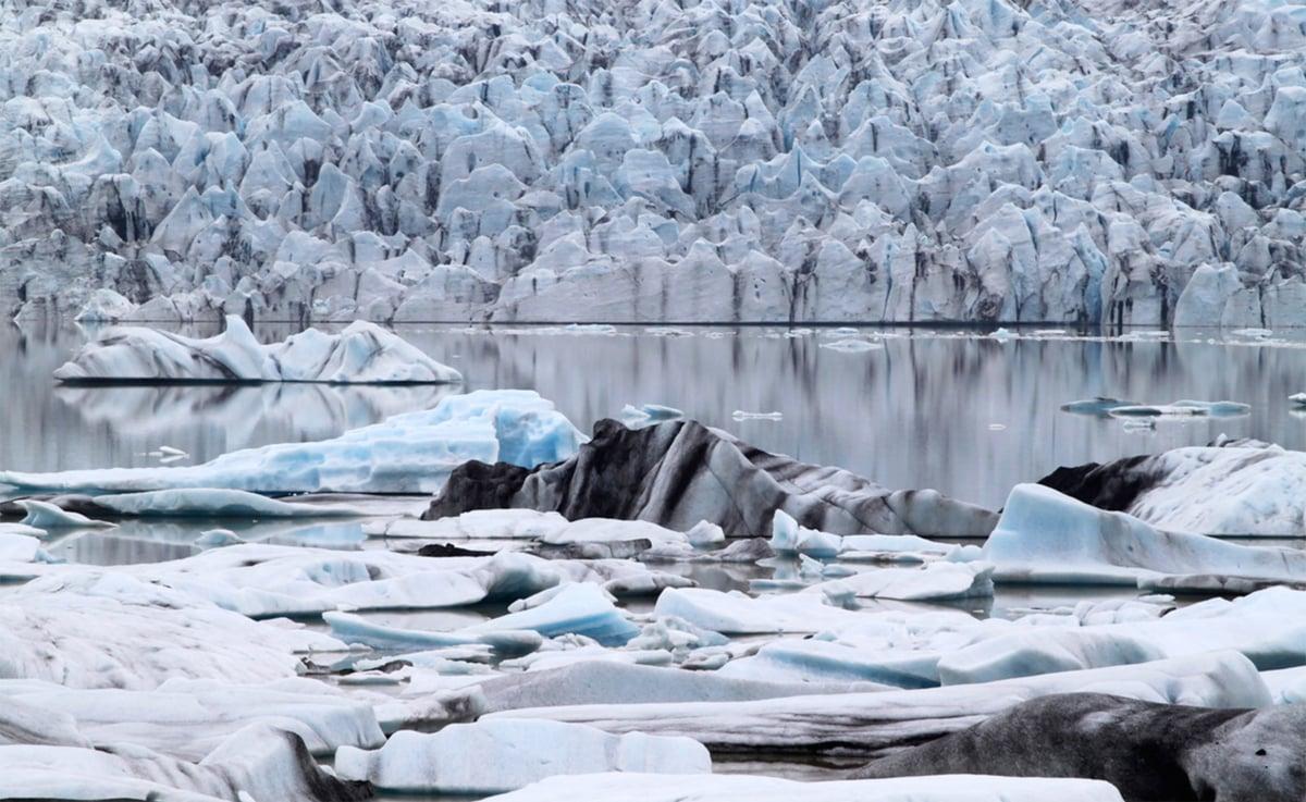 Image of Breiðamerkurjökull, Iceland I