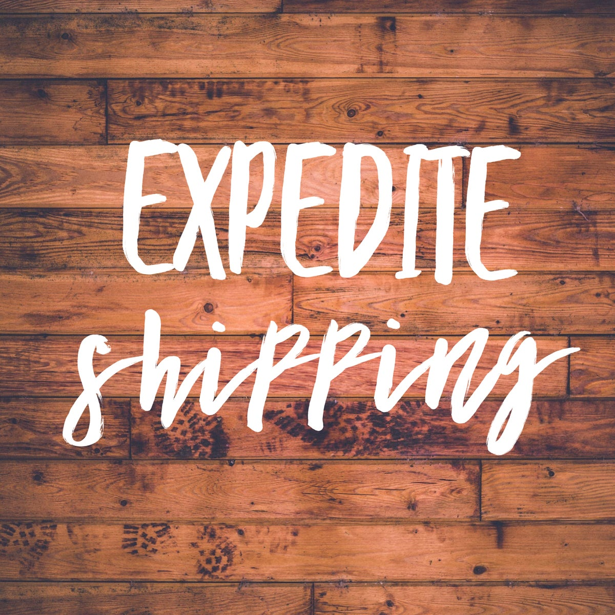Image of Expedite shipping