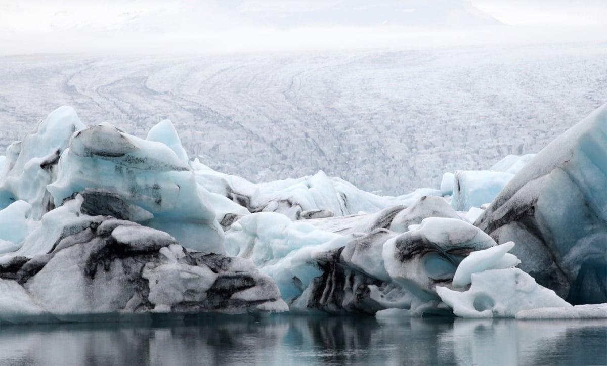 Image of Breiðamerkurjökull, Iceland III