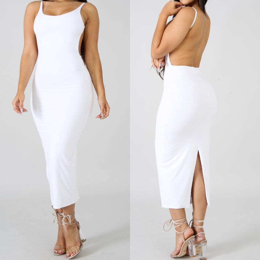 Image of Karina midi dress