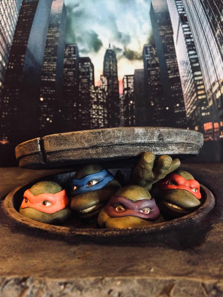 Image of TMNT 3D Movie Poster