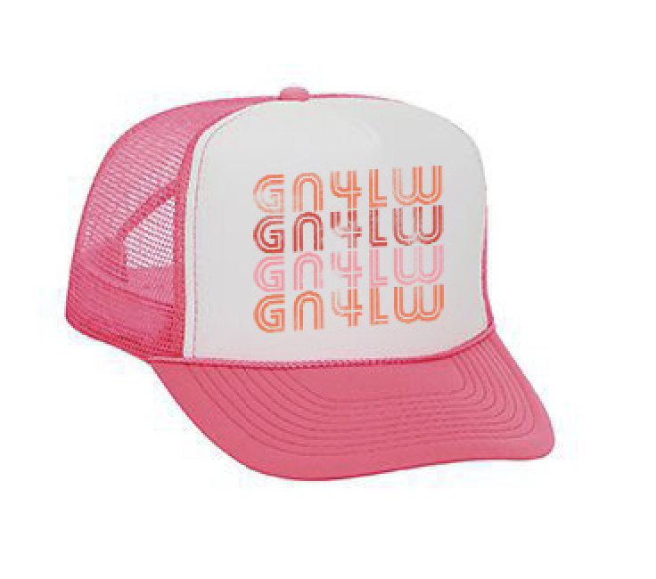 Image of GN4LW x Sunshine Canteen Distressed Logo Trucker Hat