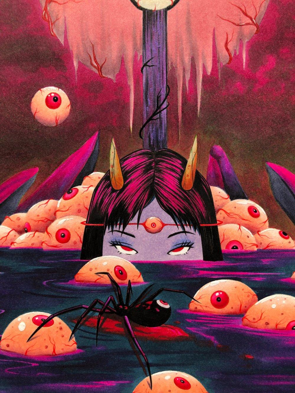 Image of Sea of Fallen Angels (Original)