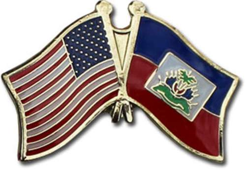 Image of Haiti/USA pin