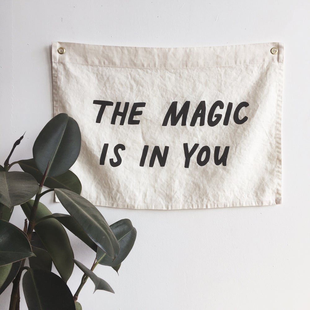 Image of MAGIC Flag - Ivory