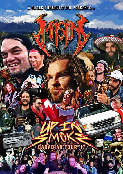 Image of Mason - Up In Smoke - BLU-RAY